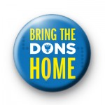 Bring the Dons Home badge